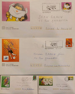 J) 2002 FRANCE, INDUSTRIAL, COMMERCIAL, SPORTS CITY, MULTIPLE STAMPS, SET OF 4, FDC - Non Classificati