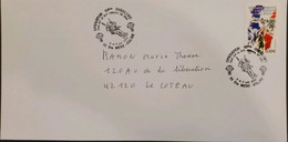 J) 2004 FRANCE, DEPARTMENTS IN LIBERATION, AIRMAIL, CIRCULATED COVER, FROM FRANCE - Non Classificati