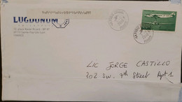 J) 2010 FRANCE, AIRPLANE, AIRMAIL, CIRCUATED COVER, FROM FRANCE TO USA - Non Classificati