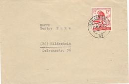 Germany 1944 Grossdeutches Reich, Letter Sent From Berlin On 11/27/1944 To Hildesheim - Brieven En Documenten