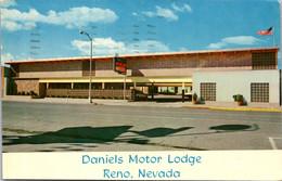 Nevada Reno Daniels Motor Lodge 1962 - Reno