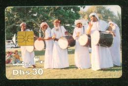 UAE / Traditional Drum Playing - Cultura