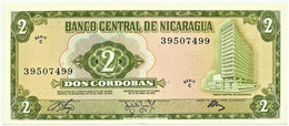 Nicaragua - 2 Córdobas - D. 1972 - Unc. - Pick 121.a -  Serie C - Nicaragua