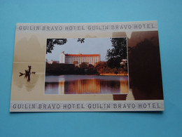 GUILIN BRAVO HOTEL ( Guangxi P.R.C. - China ) Anno 19?? ( See / Voir Photos ) ! - China