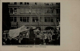 CHABUT-CUBE 1909... COURS D AVIATION....CPA ANIMEE.... - Other