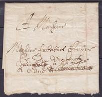 L. Datée 5 Mai 1626 De TOURNAY Pour GAND - 1815-1830 (Dutch Period)