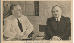 Roosevelt Molotoff - Guerra 1939-45