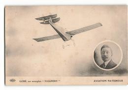Rare ELD Armand Gobé Pilote Du Monoplan NIEUPORT Aviation Nationale Aéro Club De France  E LE DELEY - Piloten
