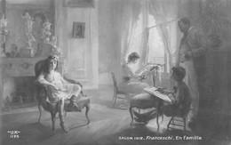 En Famille - Franceschi, Salon 1912 - Escenas & Paisajes