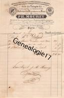 75 24031 PARIS SEINE 1844 Fabrique Bijouterie PH. MOUREY Rue Du Temple Et L Homme Arme - 1800 – 1899