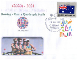 (VV 17 A) 2020 Tokyo Summer Olympic Games - Bronze Medal - 28-7-2021 - Men's Quadruple Sculls - Rowing - - Zomer 2020: Tokio
