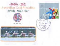 (VV 17 A) 2020 Tokyo Summer Olympic Games - Gold Medal - 28-7-2021 - Men's Four (Rowing) - Zomer 2020: Tokio