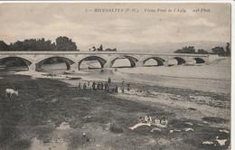 RIVESALTES  Vieux Pont De L'Agly - Rivesaltes
