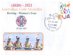 (VV 17 A) 2020 Tokyo Summer Olympic Games - Gold Medal - 28-7-2021 - Women's Four (Rowing) - Zomer 2020: Tokio