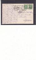 Suisse - Carte Postale De 1908 - Oblit Ambulant N° 25 - Exp Vers Bruxelles - Vue De Genève Et Le Mont Blanc - - Covers & Documents