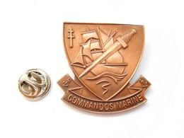 Beau Big Pin's Pins , Armée Militaire , 1er Bataillon Commandos Marine - Militari