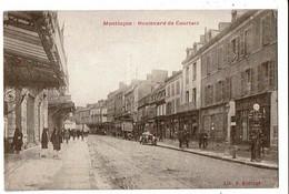 03 - MONTLUCON - Boulevard De Courtais, Pompe à Essence - 2598 - Montlucon
