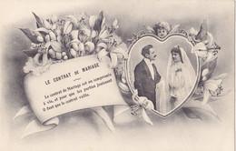 Couple (Fantaisie) - Le Contrat De Mariage - Koppels