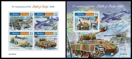 MALDIVES 2019 - WW2: Bulge - YT 7153-6 + BF1395, CV=31 € [MLD190814] - WW2