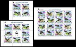 MALDIVES 2019 - WWF Waterhen Overprint - YT 7157-60, CV=370 € [MLD190815] - Nuevos