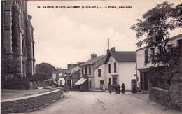 44 - Loire Atlantique -  SAINTE MARIE Sur MER - La Place - Descente - Autres Communes