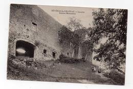 Séverac Le Chateau (12 AVeyron) Lorette Ancien Monastère - Cachet HOPITAL MILITAIRE RODEZ Au Verso 1914(PPP30547) - Altri Comuni