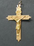 Superbe Croix Chrétienne En Or  ***** EN ACHAT IMMEDIAT **** - Pendants
