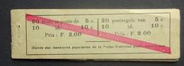 BELGIE  1914  Postzegelboekje  A 10 A    Niet Volledig     Zie Foto's - Booklets 1907-1941