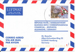 Lebanon Air Mail Cover Sent To Germany 2-5-2002 Single Franked - Lebanon
