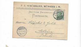 Karte Aus Münster 1902 - Cartas