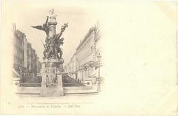 CPA - 16 - LILLE - Monument De Testelin - ND Phot - Dos Non Divisé - Lille