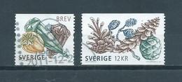 2011 Sweden Complete Set Plants Used/gebruikt/oblitere - Gebruikt