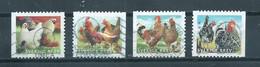2012 Sweden Complete Set Chicken,kippen Used/gebruikt/oblitere - Gebruikt