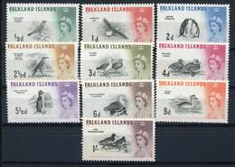 FALKLAND N° 122 à 131 Neufs ** (MNH) Cote 26 € Ensemble De 10 Valeurs. TB - Falkland