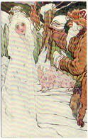 Couple Russe Dans Paysage De Neige   (7604 ASO) - 1900-1949