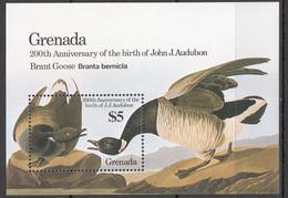 AA451 1986 GRENADA FAUNA BIRDS AUDUBON 1BL MNH - Patos