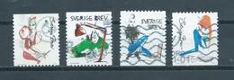 2012 Sweden Complete Set Brieven,letters Used/gebruikt/oblitere - Gebruikt