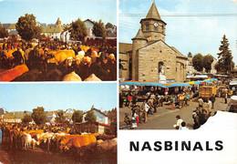 NASBINALS (Lozère) Un Jour De Foire / Foire Aux Bestiaux / Marché ( ͡♥͜ʖ ͡♥) ♥ - Other Municipalities