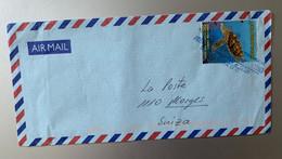 14187 - Tortue Carey Sur Lettre Bogota Colombie 07.1999 Pour La Suisse - Turtles
