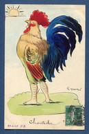 ⭐ France - Carte Postale - Coq - Chantecler ⭐ - Theatre