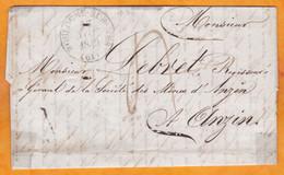 1840 - LAC De Boulogne Sur Mer, Pas De Calais Vers Anzin, Nord - T 4 - Via Lille - Cad Arrivée - 1801-1848: Vorläufer XIX