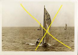 Zeilboot, Voilier, Sailboat (18) - Schip, Bateau, Boat, Schiff, Ship, Embarcacion, Boot, Vaartuig (Bak-2) (16.5 X 11.5) - Boats