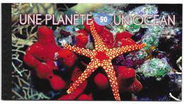 United Nations UNO UN Vereinte Nationen Geneve Genf Genèva 2010 Une Planète Un Océan Planet Ozean ** - Markenheftchen