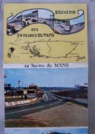 72 - Souvenir Des 24 Heures Du MANS - Dépliant De 10 Vues - Le Mans
