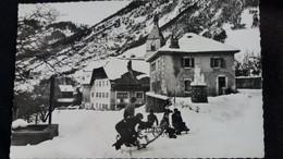 CPSM VACHERESSE HTE SAVOIE 74 PARTIE DE PLAISIR EN HIVER ED CELLARD LUGE ENFANTS 1960 - Vacheresse