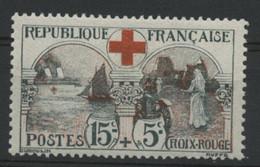 """N° 156 COTE 140 € Neuf * (MH). INFIRMIERE """"15ct + 5ct Au Profit De La Croix Rouge"""". - Nuevos"""