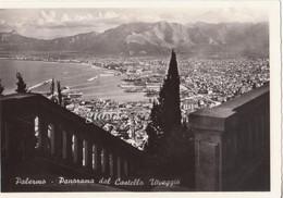 Palermo Panorama Da Castello Utveggio Fg - Palermo
