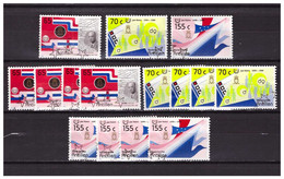 Antillen / Antilles 1988 X5 50 Years Of State Used - Curacao, Netherlands Antilles, Aruba