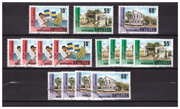 Antillen / Antilles 1990 X5 Dominicanessen Hospital School Used - Curacao, Netherlands Antilles, Aruba