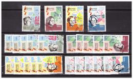 Antillen / Antilles 1990 X6 Dutch Queens Used - Curacao, Netherlands Antilles, Aruba